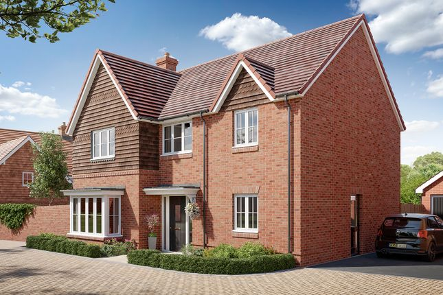 """Thumbnail Detached house for sale in """"The Rutherford"""" at Boorley Green, Winchester Road, Botley, Southampton, Botley"""