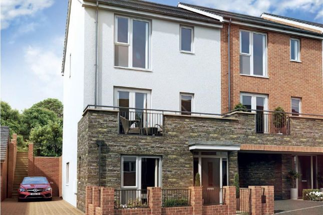 Thumbnail Town house for sale in Gower Road, Sketty, Swansea