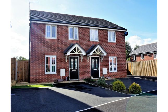 Thumbnail Semi-detached house for sale in Edward Phipps Way, Haslington