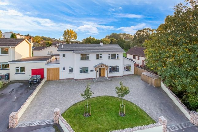 Thumbnail Detached house for sale in Croft Road, Ogwell, Newton Abbot