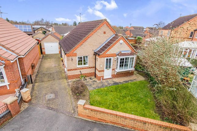 Thumbnail Bungalow for sale in Cadwell Close, Lincoln