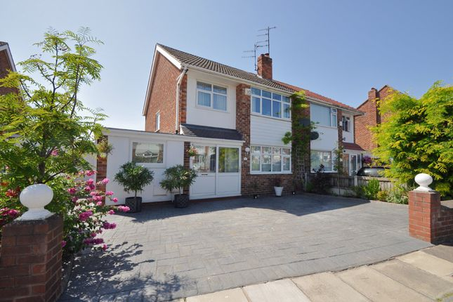 Thumbnail Semi-detached house for sale in Kinross Road, Wallasey