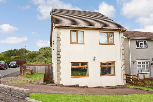 Thumbnail Detached house for sale in Mervyn Way, Pencoed, Bridgend .