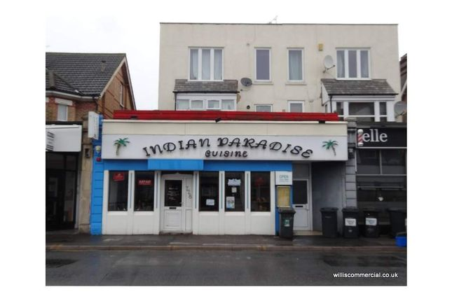 Thumbnail Restaurant/cafe to let in Christchurch Road 728, Boscombe, Dorset