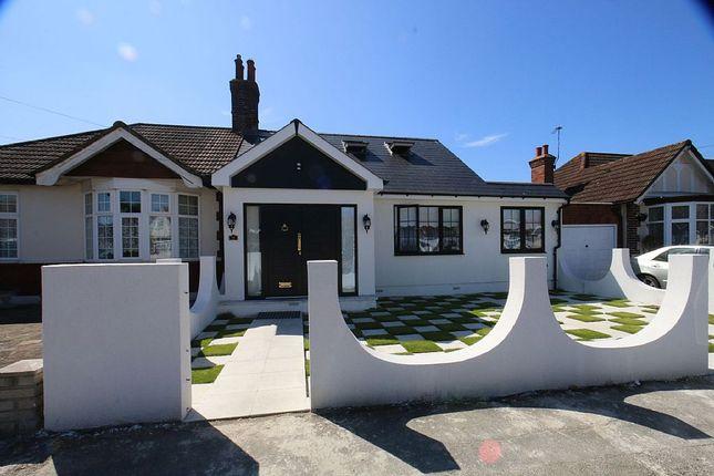 Thumbnail Semi-detached bungalow for sale in Melbourne Gardens, Romford, Essex
