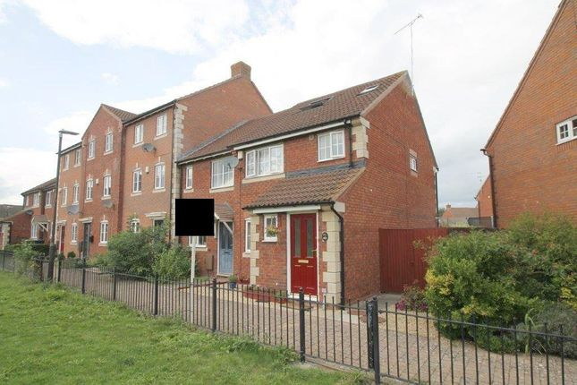 Thumbnail End terrace house for sale in Clifford Avenue, Walton Cardiff, Tewkesbury