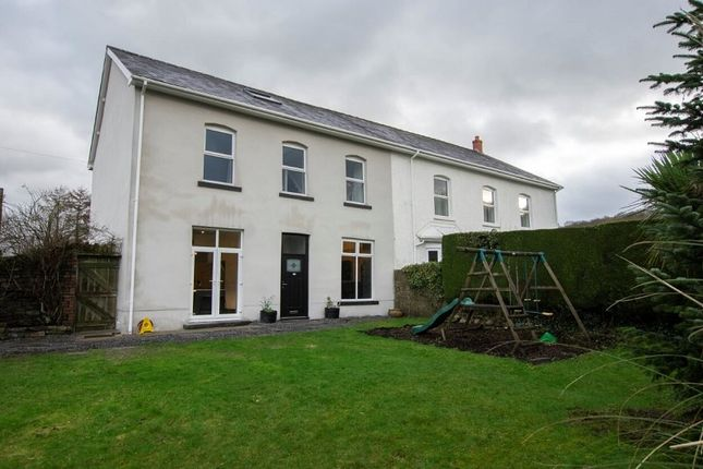 Thumbnail Semi-detached house for sale in Glanrhyd Road, Ystradgynlais, Swansea, City And County Of Swansea.