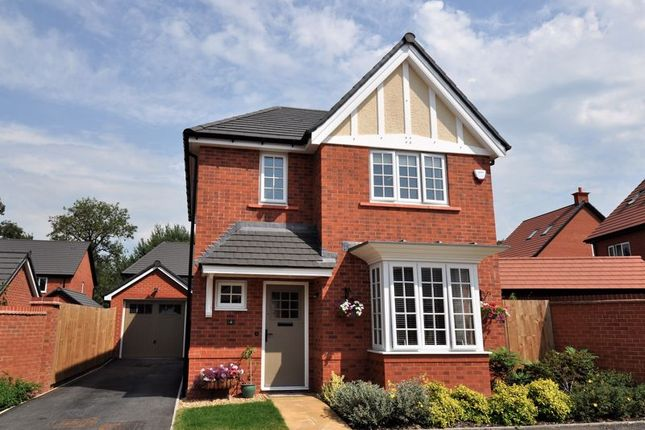 Thumbnail Detached house for sale in Violet Way, Holmes Chapel, Crewe