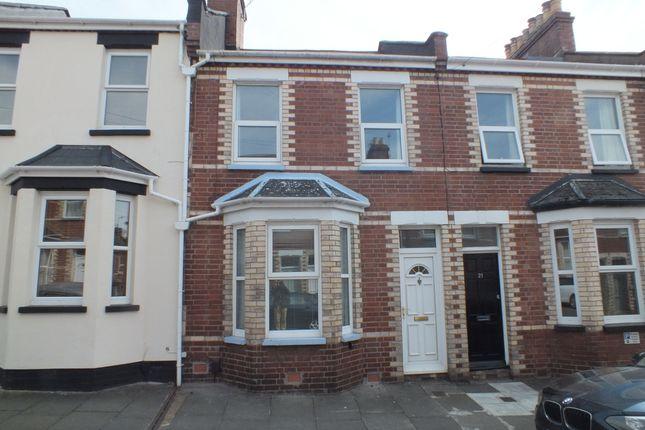 Thumbnail Terraced house to rent in Baker Street, Heavitree, Exeter, Devon