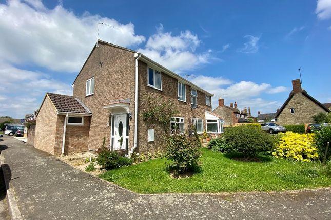 Thumbnail 3 bed semi-detached house to rent in St James Close, Hanslope, Milton Keynes