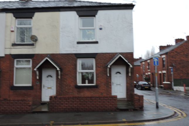 Thumbnail End terrace house to rent in Middleton Road, Chadderton, Oldham