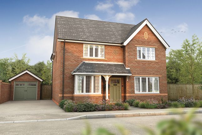 """Thumbnail Detached house for sale in """"The Shirley"""" at Omega Boulevard, Warrington"""