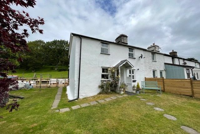 Thumbnail End terrace house for sale in Craig Yr Henffordd, Penegoes, Machynlleth, Powys