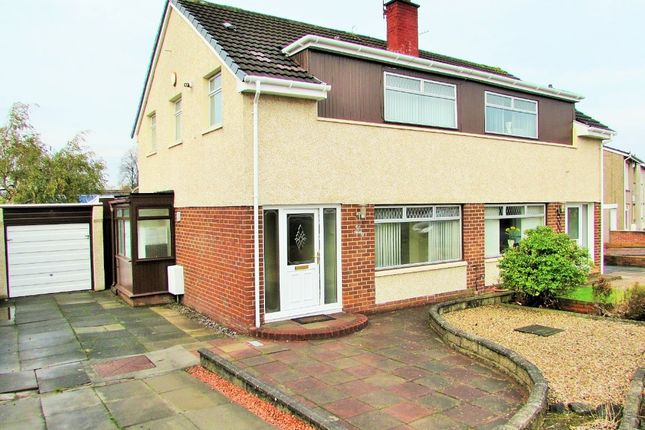 Thumbnail Semi-detached house to rent in Merlin Avenue, Bellshill, North Lanarkshire