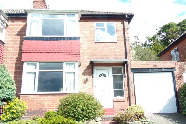 Thumbnail Semi-detached house to rent in Otterburn Gardens, Low Fell, Gateshead