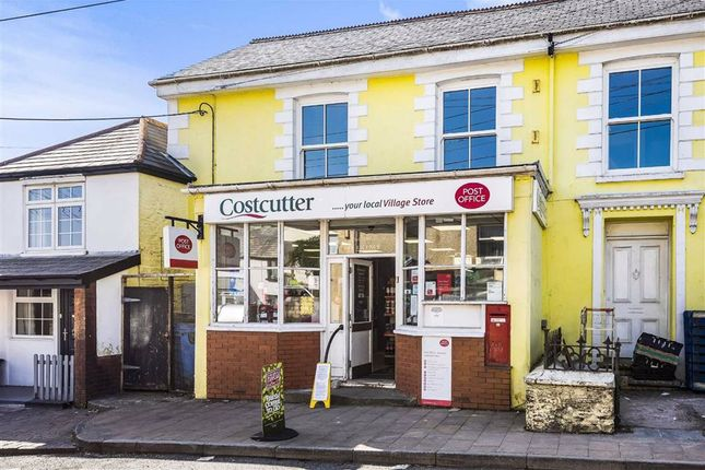 Thumbnail Commercial property for sale in Investment Convenience Store For Sale, Post Office House, Holsworthy, Devon
