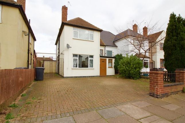 Thumbnail Semi-detached house to rent in Herricks Avenue, Leicester