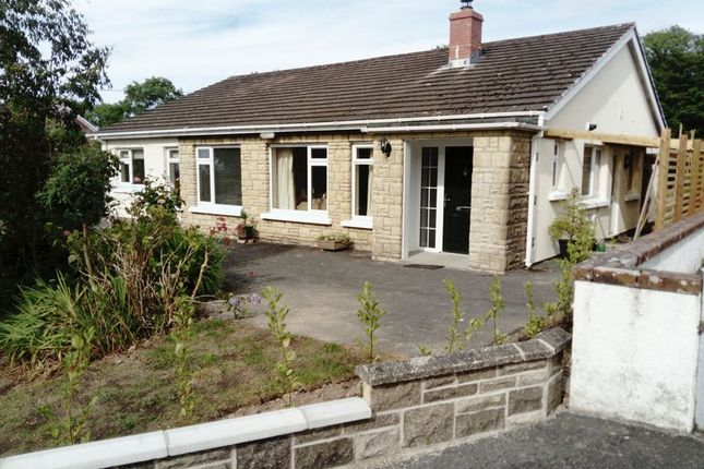Thumbnail Detached bungalow for sale in Hengell Uchaf Estate, New Quay
