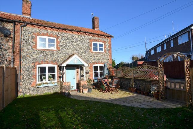 Thumbnail Semi-detached house for sale in Fen Lane, East Harling, Norwich, Norfolk.