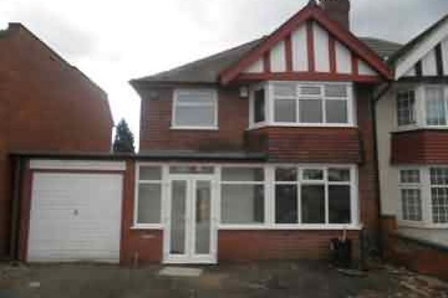 Thumbnail Semi-detached house to rent in Queslett Road, Great Barr, Birmingham