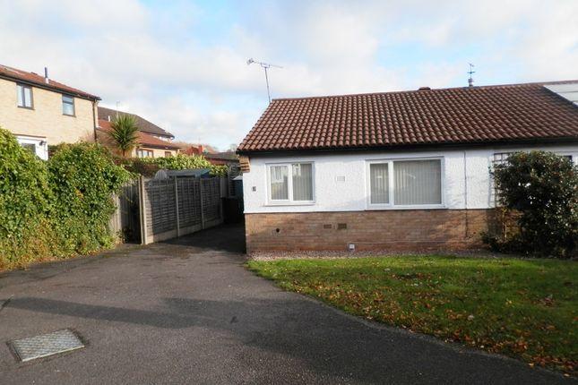 Thumbnail Semi-detached bungalow to rent in Windrush Close, Beeston, Nottingham