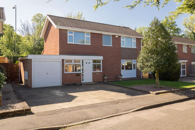 Thumbnail Detached house for sale in Cropwell Gardens, Radcliffe-On-Trent, Nottingham