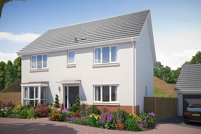 "Thumbnail Detached house for sale in ""The Ribsden 2"" at Vicarage Hill, Kingsteignton, Newton Abbot"