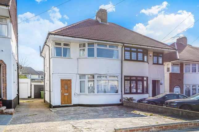 Thumbnail Semi-detached house to rent in Mountbel Road, Stanmore