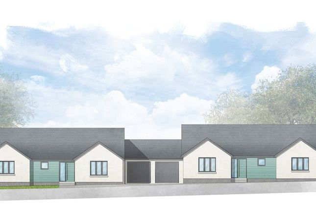 Thumbnail Detached bungalow for sale in Coombe Orchard, Coombefield Lane, Axminster, Devon