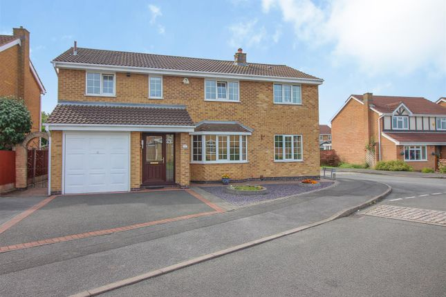 Thumbnail Detached house for sale in Rothbury Avenue, Trowell, Nottingham