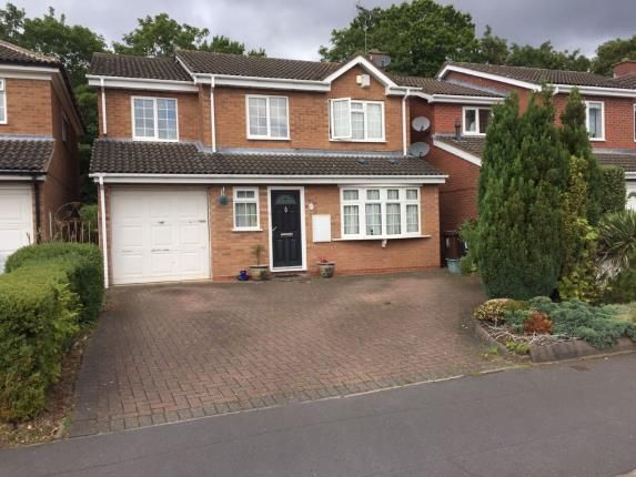 Thumbnail Detached house for sale in Trustin Crescent, Solihull, West Midlands