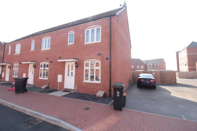 Thumbnail End terrace house to rent in Lysaght Avenue, Newport, Gwent