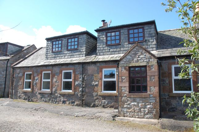 Thumbnail End terrace house for sale in Holly Cottage, 2 Yettan Terrace, Palnackie, Castle Douglas