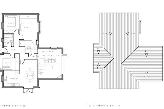Plot 1 Floorplan of Runnon Moor Lane, Hatherleigh, Okehampton EX20
