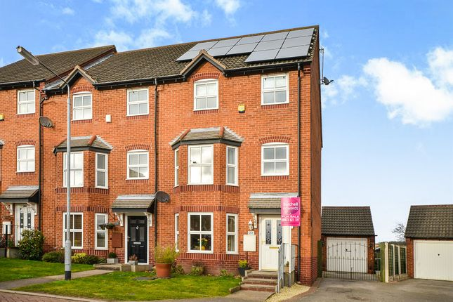 Thumbnail Town house for sale in Primrose Court, Mansfield Woodhouse, Mansfield