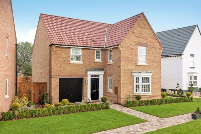 "Thumbnail Detached house for sale in ""Drummond"" at Overstone Road, Sywell, Northampton"