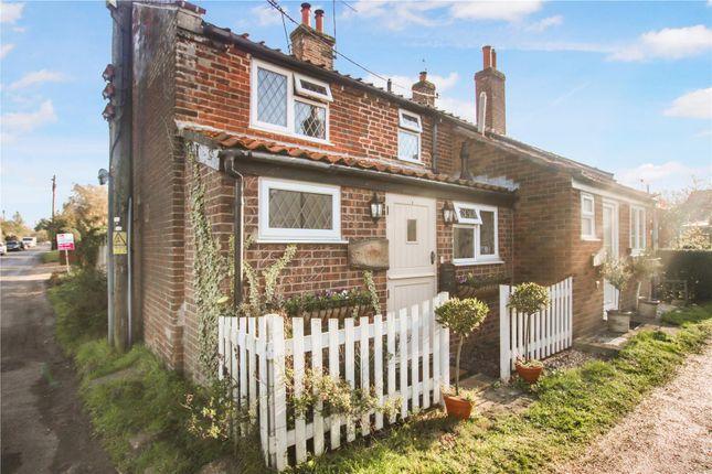 Thumbnail End terrace house for sale in Fakenham Road, Great Ryburgh, Fakenham