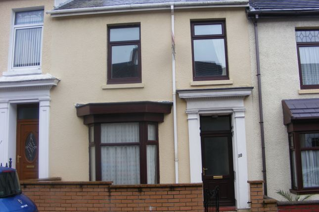 Thumbnail Terraced house to rent in Gilbert Road, Llanelli