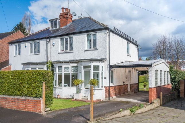 Thumbnail Semi-detached house for sale in Folds Crescent, Sheffield