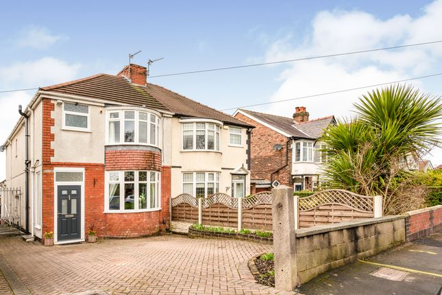 Thumbnail Semi-detached house for sale in Liverpool Road North, Maghull, Liverpool