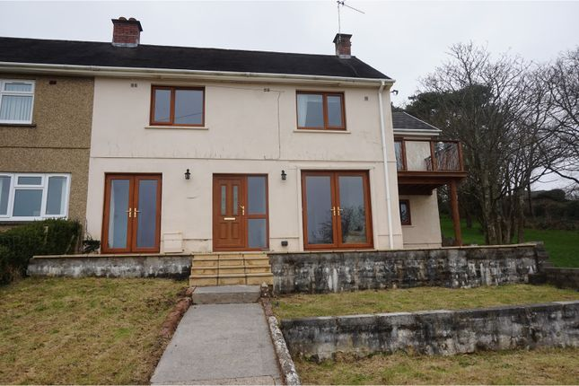 Thumbnail Semi-detached house for sale in Glascoed, Pwll, Llanelli