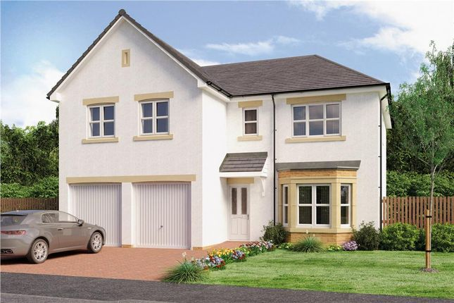 "Thumbnail Detached house for sale in ""Jura"" at Broomhouse Crescent, Uddingston, Glasgow"