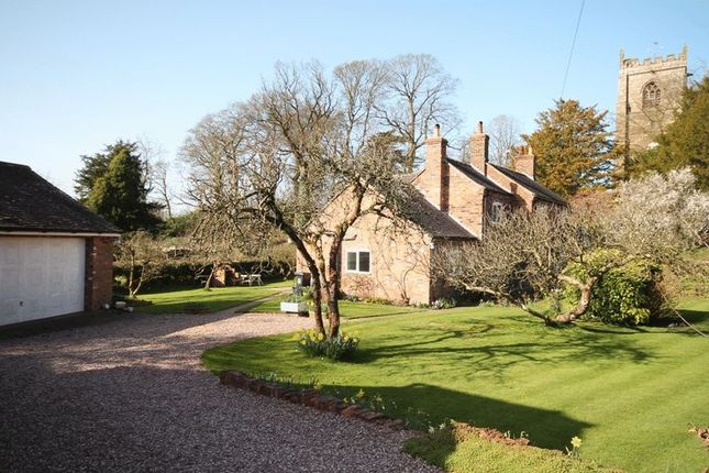 Thumbnail Detached house for sale in Mucklestone, Market Drayton