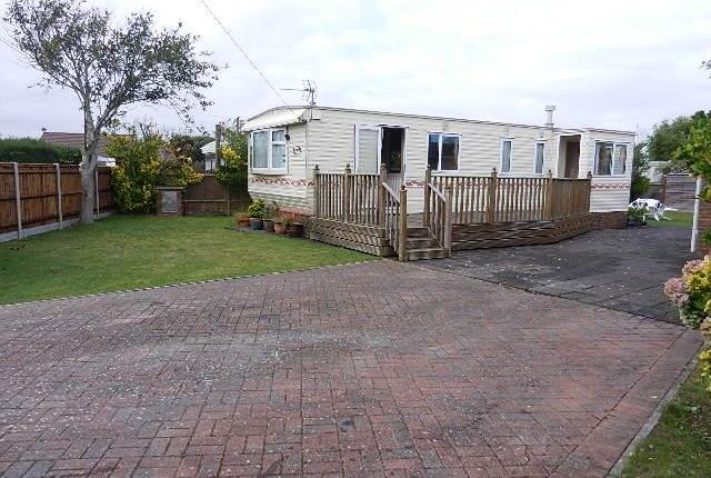 Thumbnail Mobile/park home for sale in Birdham Road, Hayling Island