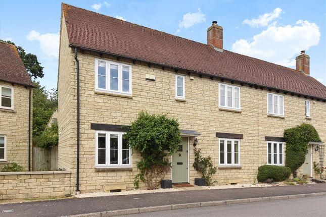 Thumbnail Semi-detached house for sale in Hawthorn Drive, Bradwell Village, Burford, Oxfordshire