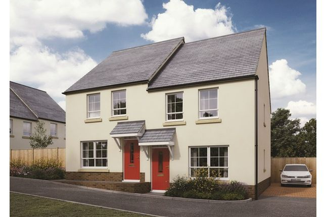 2 bed semi-detached house for sale in Plots 38 & 39 Canes Orchard, Daisy Park, Brixton, Devon