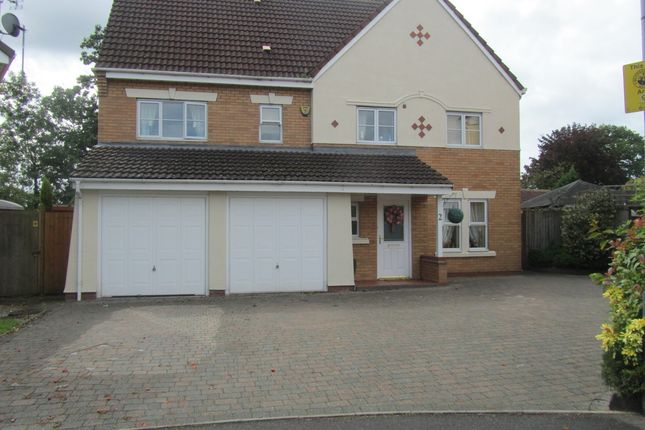 Thumbnail Detached house for sale in Snowdrop Close, Bedworth