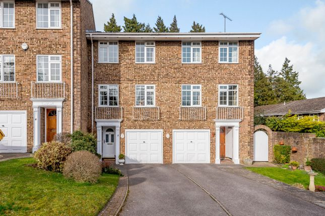 Thumbnail Town house for sale in Rivermount Gardens, Guildford