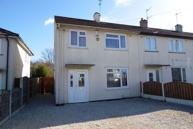 Thumbnail End terrace house for sale in Petersgate, Scawthorpe, Doncaster