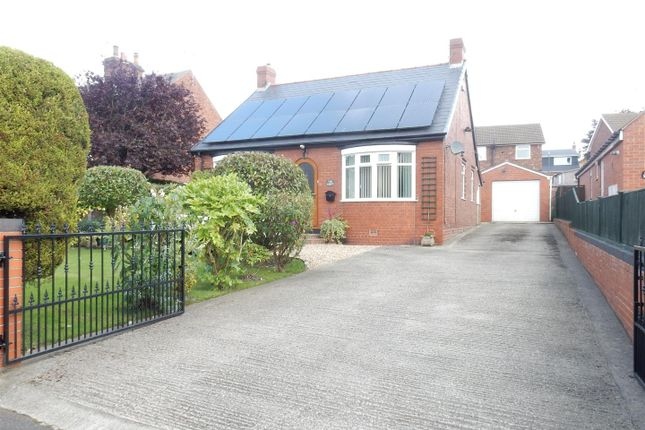 Thumbnail Detached bungalow for sale in Fox Road, Whitwell, Worksop